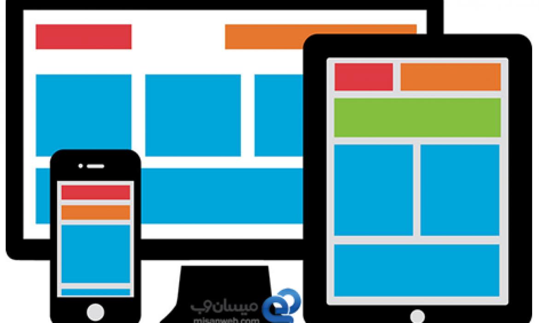 ساخت سایت، مناسب در تلفن های همراه